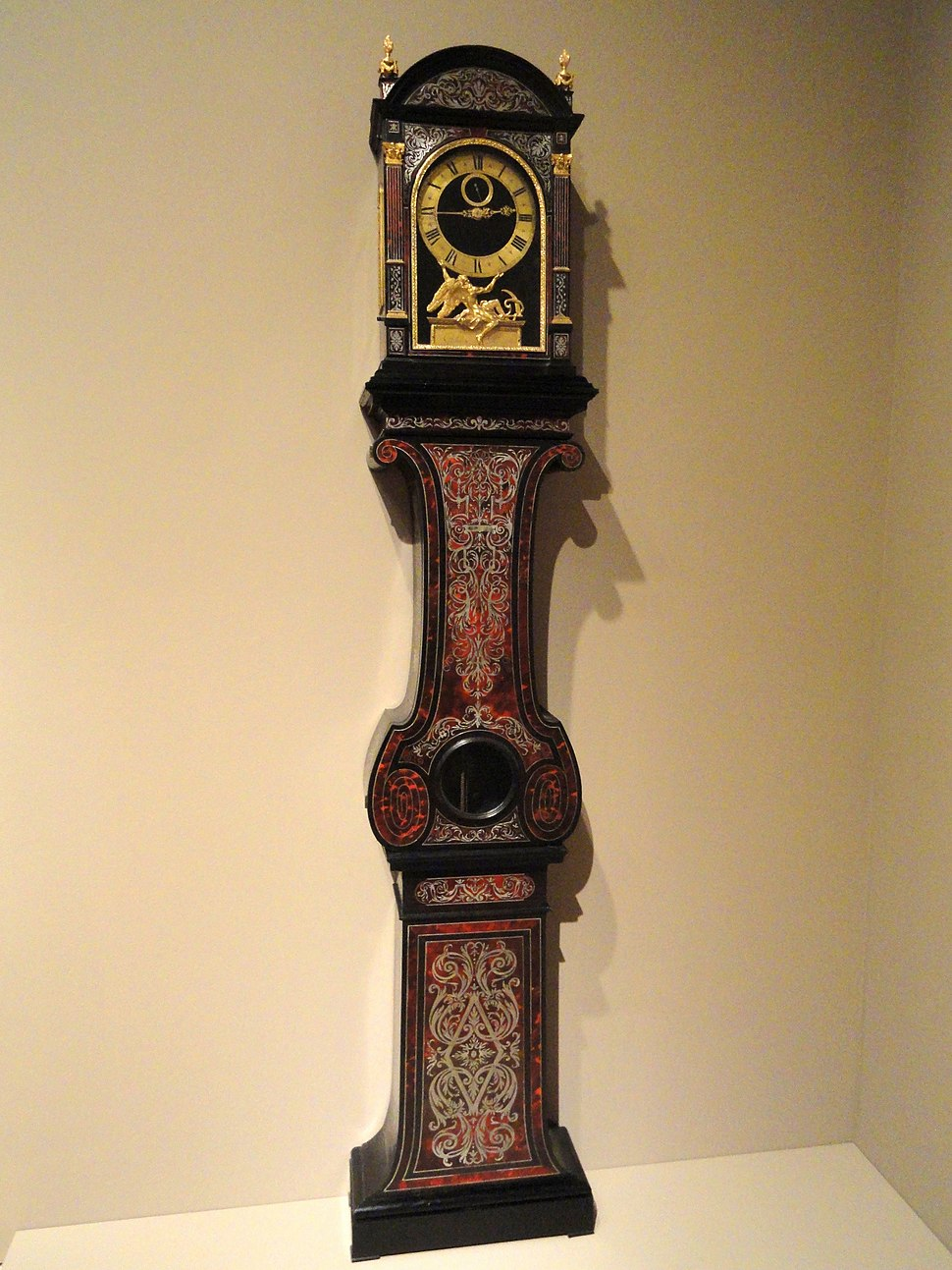 Longcase regulator, Andr%C3%A9-Charles Boulle - Indianapolis Museum of Art - DSC00698