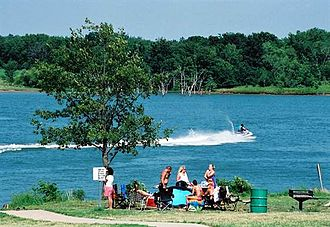 Longview Lake - Image: Longview Lake MO 4