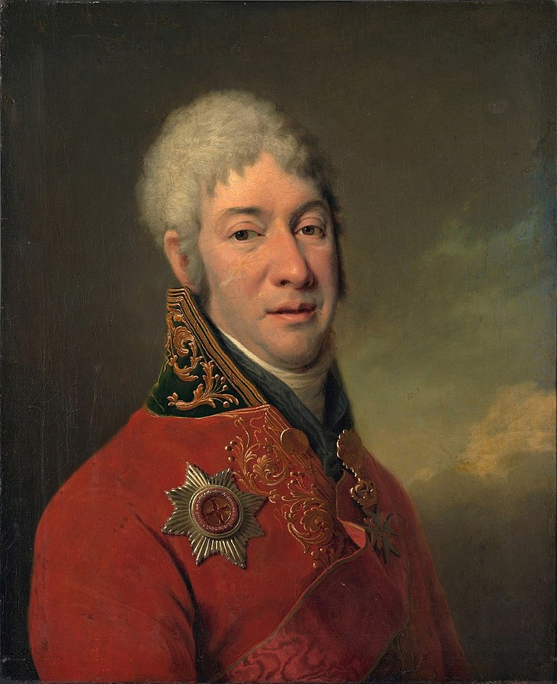Художник Д.Г.Левицкий, 1802 год. Третьяковская галерея