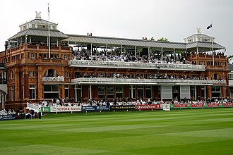Ian Botham - The pavilion at Lord's Cricket Ground, where Botham served as a ground boy in 1972 and 1973.