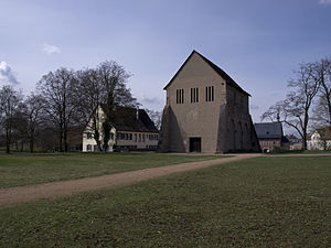 Lorsch Abbey - Church ruins