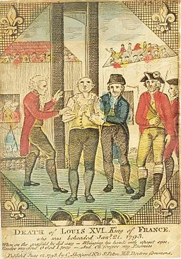 Louis XVI - Execution