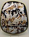 Louvre-Lens - L'Europe de Rubens - 026 - Le Grand Camée de France (Gemma Tiberiana), « L'Apothéose de Germanicus ».JPG