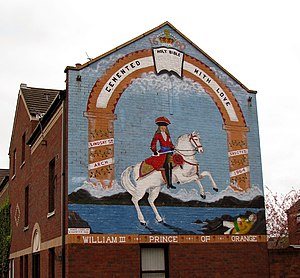English: Loyalist Mural, Donegall Pass, Belfas...