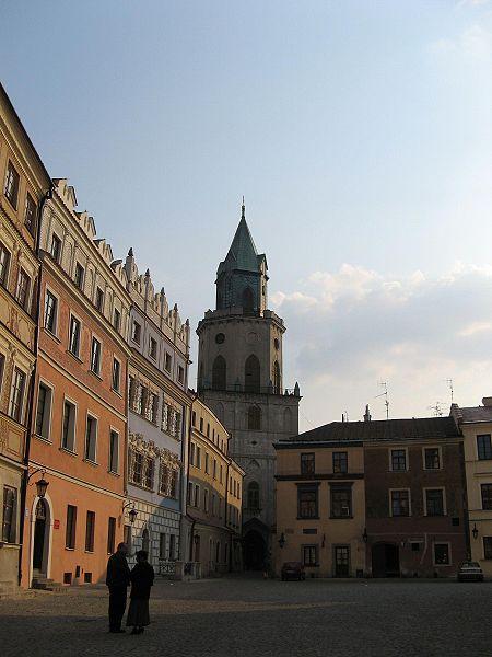 File:Lublin wieża spod trybunału.jpg