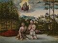 Lucas Cranach (II) - Taufe Christi (Cleveland Museum of Art).jpg