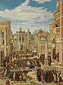 Ludwig Refinger - Historienzyklus, Marcus Curtius opfert sich für das römische Volk - 687 - Bavarian State Painting Collections.jpg