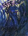 Luigi Russolo, 1912, Sintesi plastica dei movimenti di una donna (Synthèse plastique des mouvements d'une femme), oil on canvas, 86 x 65 cm, Musée de Grenoble.jpg