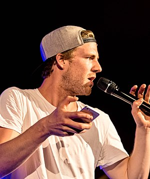 Luke Mockridge -  Zelt Musik Festival 2015 in Freiburg, Germany