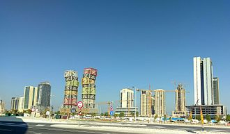 Lusail - Ongoing construction in Lusail