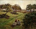 Luther Emerson van Gorder - Apple orchard.jpg