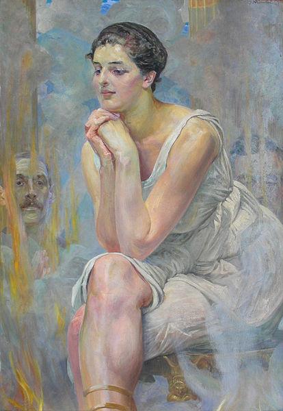 File:Lwowska Galeria Sztuki - Jacek Malczewski - Pithia 2.jpg