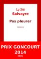 Lydie Salvayre - Pas pleurer.png