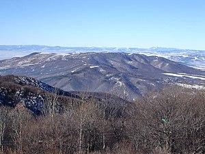 Lyulin Mountain - Lyulin Mountain from Vitosha