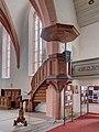 Mühlhausen Kirche Kanzel 2110204 HDR.jpg