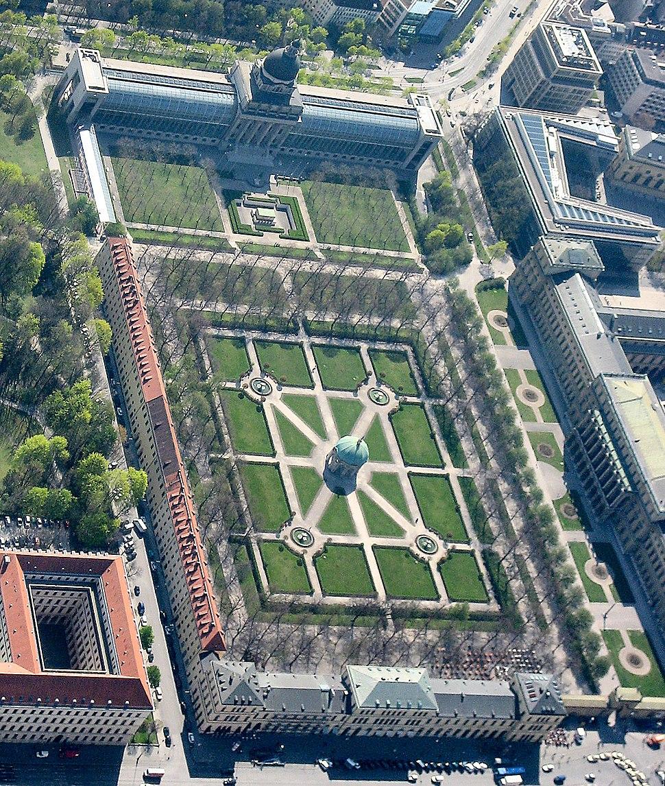 München - Hofgarten (Luftbild)-2