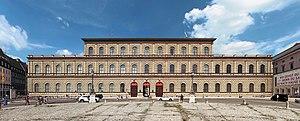 Bayerische Akademie der Schönen Künste - Königsbau of the Munich Residenz