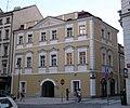 Měšťanský dům U Modrého kola, U Zázvorků (Staré Město), Praha 1, Martinská, Na Perštýně 6, Staré Město.JPG