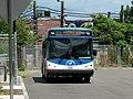 MBTA route 713 bus at Orient Heights, July 2015.JPG