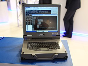 Information technology in Russia - MCST Elbrus HT-R1000 laptop