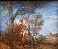 MGS, Wilhelm Busch, Herbstlandschaft mit Windmühle und rotem Haus, um 1885-20160312-001.jpg