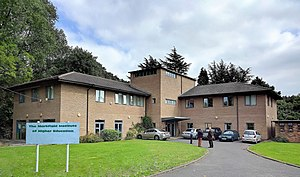 Markfield Institute of Higher Education - Image: MI building