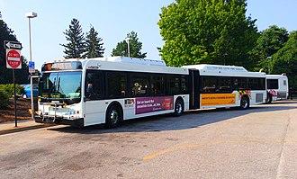 Route 58 (MTA Maryland) - Image: MTA MD 8029 58