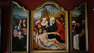 Triptych: Descent from the Cross