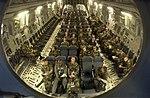 MacDill servicemembers sit inside a C17 aircraft (070701-F-7552L-005).JPG