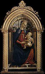 La Vierge à la roseraie