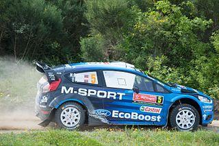 Ford Fiesta RS WRC World Rally Car