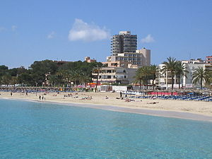 A Spanish holiday resort called Magaluf in Mal...