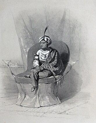 Duleep Singh - A young Maharaja Duleep Singh.