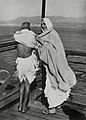 Mahatma Gandhi with Madeleine Slade aboard the S.S. Rajputana.jpg