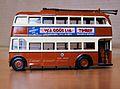 Maidstone Corporation Trolleybus model.jpg