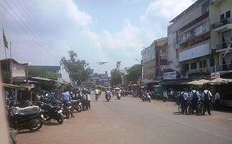 Desaiganj - Main road in Wadsa