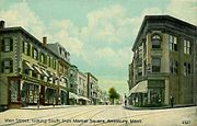 Main Street from Market Square, Amesbury, MA