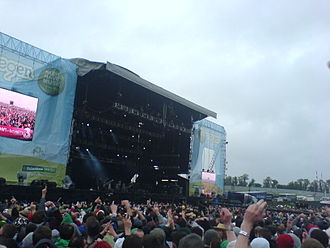 Oxegen - The Main Stage on the Saturday of Oxegen 2006