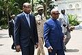 Malian PM Cissé and President Ibrahim Boubakar Keita, 2019.jpg