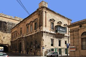 Giuseppe Bonici - The Customs House in Valletta, Malta