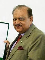 Mamnoon Hussain 2014