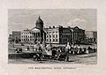 Manchester Royal Infirmary, Manchester, England. Line engrav Wellcome V0013916.jpg