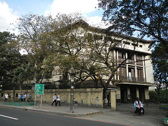 Polytechnic University of the Philippines - The Normal Hall of the Philippine Normal University where the Philippine School of Commerce held its classes for 12 years.