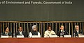 Manmohan Singh at the inauguration of the High Level Segment of the 11th Conference of Parties to the Convention on Biological Diversity, in Hyderabad, Andhra Pradesh. The Governor, Andhra Pradesh, Shri E.S.L. Narasimhan (1).jpg