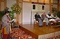 Manmohan Singh at the releasing of Hindi, Punjabi and Urdu version of Seva Sadan and Hindi & Urdu version of Rang Bhoomi by Munshi Premchand brought out by the National Book Trust in New Delhi on January 10, 2006.jpg