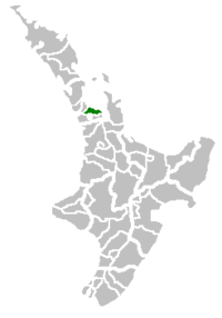 Manukau City within New Zealand