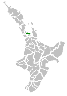 Manukau City Territorial authority of New Zealand in North Island
