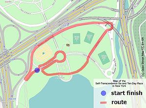 Self-Transcendence 6- & 10-day Race - Map