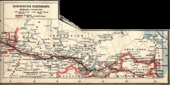 Transsibiriska järnvägslinjen