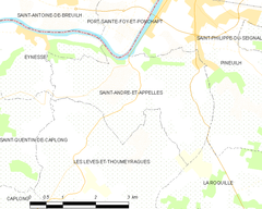 Map commune FR insee code 33369.png